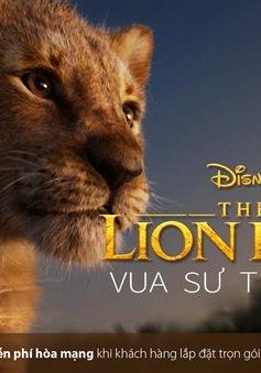 """""""Vua sư tử"""" lần đầu phát trên VTVCab"""