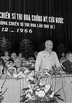 Chủ tịch Hồ Chí Minh – Người khởi xướng và lãnh đạo phong trào thi đua yêu nước