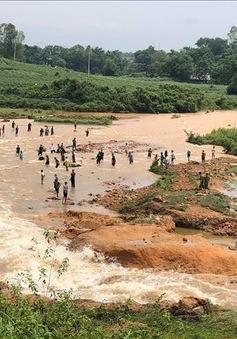 Di dời nhiều hộ dân ở Phú Thọ khi đập Đầm Thìn bị vỡ