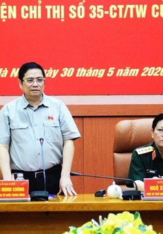 Thường vụ Quân ủy Trung ương thực hiện nghiêm túc, chất lượng Chỉ thị 35 của Bộ Chính trị