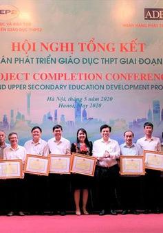 Hoàn thành xây hơn 1.000 phòng học tại 133 trường THPT trong 7 năm