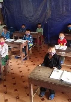 Vệ sinh trường lớp, phòng chống dịch bệnh khi hết mưa ở Hà Giang và các tỉnh miền núi phía Bắc