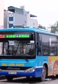 Hà Nội sẽ bố trí thêm hàng nghìn điểm dừng xe bus