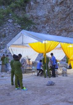 Tai nạn nghiêm trọng tại mỏ đá, 2 người tử vong, 1 người mất tích