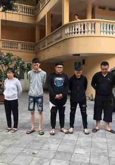 """Hà Nội: Bắt giữ nhóm 7 """"quái xế"""" làm một người phụ nữ phải đi cấp cứu"""