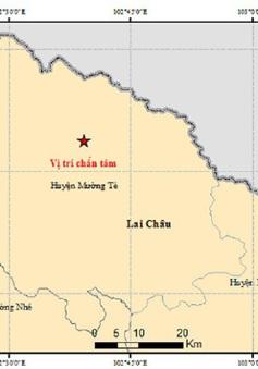 Động đất 4,9 độ richter tại Lai Châu, 2 học sinh bị thương