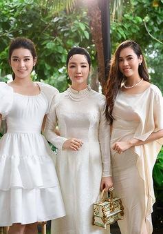 """3 nàng hậu tên My đọ dáng khoe vẻ đẹp """"một chín một mười"""""""