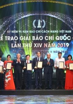 Đài THVN giành 1 giải A, 2 giải C tại Giải Báo chí quốc gia 2019