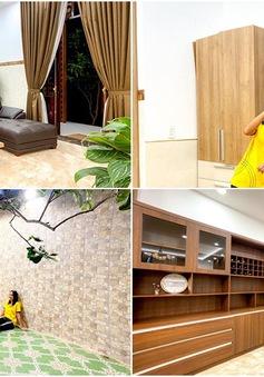 H'Hen Niê khoe ngôi nhà hiện đại mới sửa sang cho ba mẹ