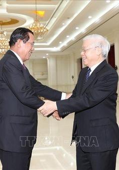 Nhiệt liệt chúc mừng 69 năm thành lập Đảng Nhân dân Campuchia