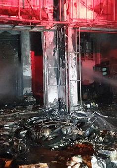 Hỏa hoạn thiêu rụi văn phòng nhà xe tại TP Phan Thiết