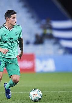 James Rodriguez chia sẻ tình hình khó khăn tại Real Madrid