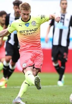 Lịch thi đấu, kết quả bóng đá và bảng xếp hạng các giải bóng đá châu Âu ngày 29/6: Newcastle 0-2 Man City, Espanyol 0-1 Real Madrid, Parma 1-2 Inter Milan