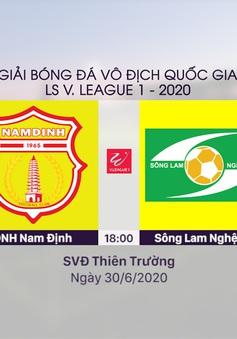 VIDEO Highlights: DNH Nam Định 3–0 Sông Lam Nghệ An (Vòng 7 LS V.League 1-2020)