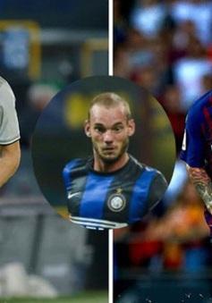 Wesley Sneijder tuyên bố bất ngờ về Ronaldo và Messi