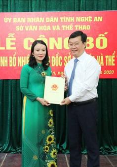 Nghệ An có tân Giám đốc Sở Văn hóa và Thể thao