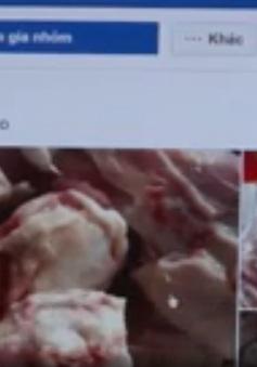 Thịt heo đông lạnh giá rẻ bán tràn lan trên mạng