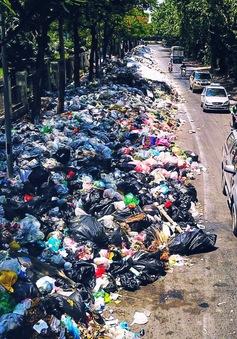 Hà Nội ráo riết giải tỏa ùn tắc ở bãi rác Nam Sơn
