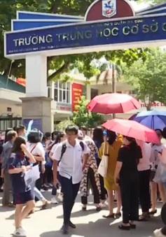 Đề Toán thi vào lớp 10 tại Hà Nội: Dễ đạt 8-9, nhiều em tự tin được 10 điểm