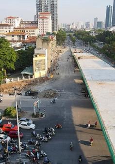 Cây cầu vượt có quy mô nhất Hà Nội sắp thông xe