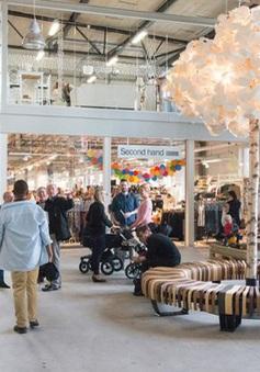 Trung tâm thương mại sang trọng 5.000 m2 chỉ bán đồ cũ