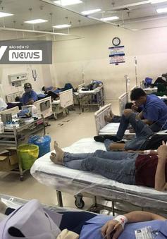 Huy động 3 ê-kíp cấp cứu bệnh nhân trong vụ hơn 100 công nhân ở Đồng Nai ngộ độc