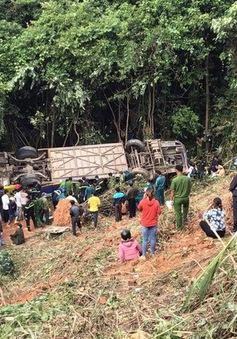 Vụ xe khách lao xuống vực ở Kon Tum: Khởi tố tài xế xe khách