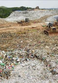 Kiểm điểm việc chậm giải phóng mặt bằng tại bãi rác Nam Sơn