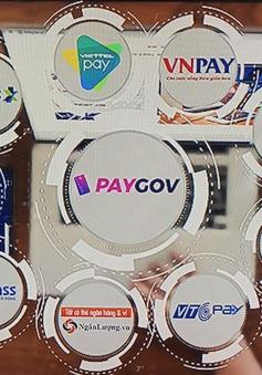 Cổng thanh toán cam kết mở rộng kết nối dịch vụ công trực tuyến