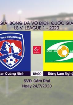 VIDEO Highlights: Than Quảng Ninh 2-0 Sông Lam Nghệ An (Vòng 11 LS V.League 1-2020)