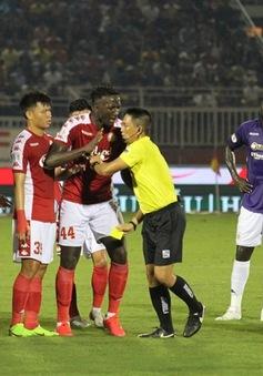 Kỷ luật tổ trọng tài trận CLB TP Hồ Chí Minh - CLB Hà Nội