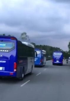 Xử lý 2 tài xế không nhường đường xe cứu hỏa