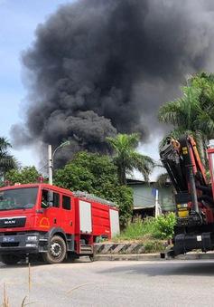 Phát hiện nhiều chất độc hại có chỉ số vượt chuẩn trong vụ cháy kho hóa chất ở Hà Nội