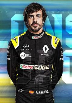 Đua xe F1: Fernando Alonso trở lại trong màu áo Renault