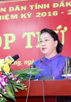 Nâng cao hiệu quả hoạt động của HĐND Đăk Nông trong nhiệm kỳ tiếp theo