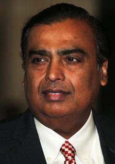 Tỷ phú Ấn Độ trở thành người giàu thứ 4 thế giới