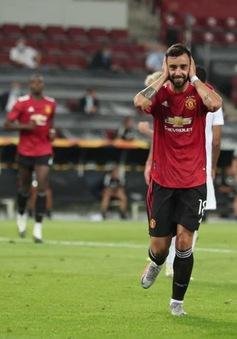 Kết quả Man Utd 1-0 Copenhagen: Bruno Fernandes lập công, Man Utd tiến vào bán kết Europa League