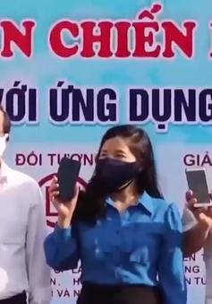 """Phú Yên: Ra quân Chiến dịch """"Thanh niên Phú Yên với ứng dụng nCovi, Bluezone"""""""