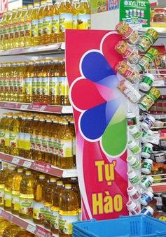 """Hàng Việt chiếm thế """"áp đảo"""" tại các siêu thị"""