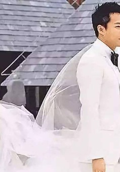 Giữa bão tin đồn hôn nhân lục đục, chồng Từ Hy Viên tuyên bố muốn đám cưới lại