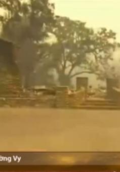 Mỹ: Ban bố tình trạng khẩn cấp tại bang California do cháy rừng