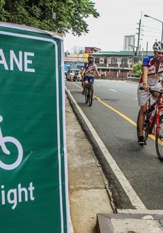 Người dân Philippines được khuyến khích đi bộ, đạp xe trong thời gian dịch bệnh