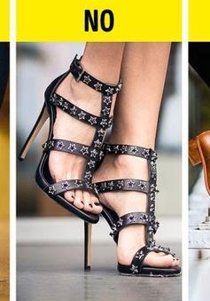 10 quy tắc vàng cho tín đồ của giày cao gót