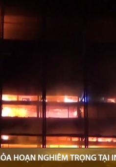 Indonesia: Hỏa hoạn nghiêm trọng tại tòa nhà di sản Tổng chưởng lý