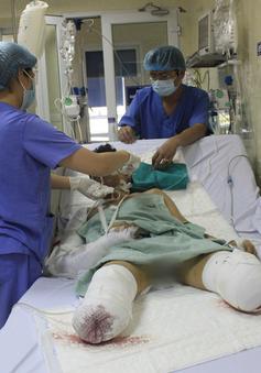 Sức khỏe nạn nhân vụ nổ bình gas tại Hà Nội hiện ra sao?