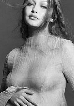 Gigi Hadid lần đầu công khai ảnh bầu, siêu xinh