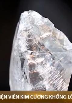 Phát hiện viên kim cương khổng lồ nặng 442 carat ở Châu Phi