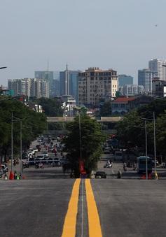 Thông xe cầu vượt Nguyễn Văn Huyên - Hoàng Quốc Việt