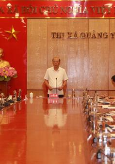 Thị xã Quảng Yên (Quảng Ninh): Làm tốt công tác đầu tư xây dựng cơ bản và minh bạch đấu thầu qua mạng