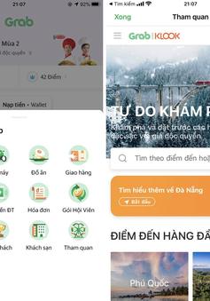 Grab và Klook giúp người dùng trải nghiệm du lịch trên smartphone